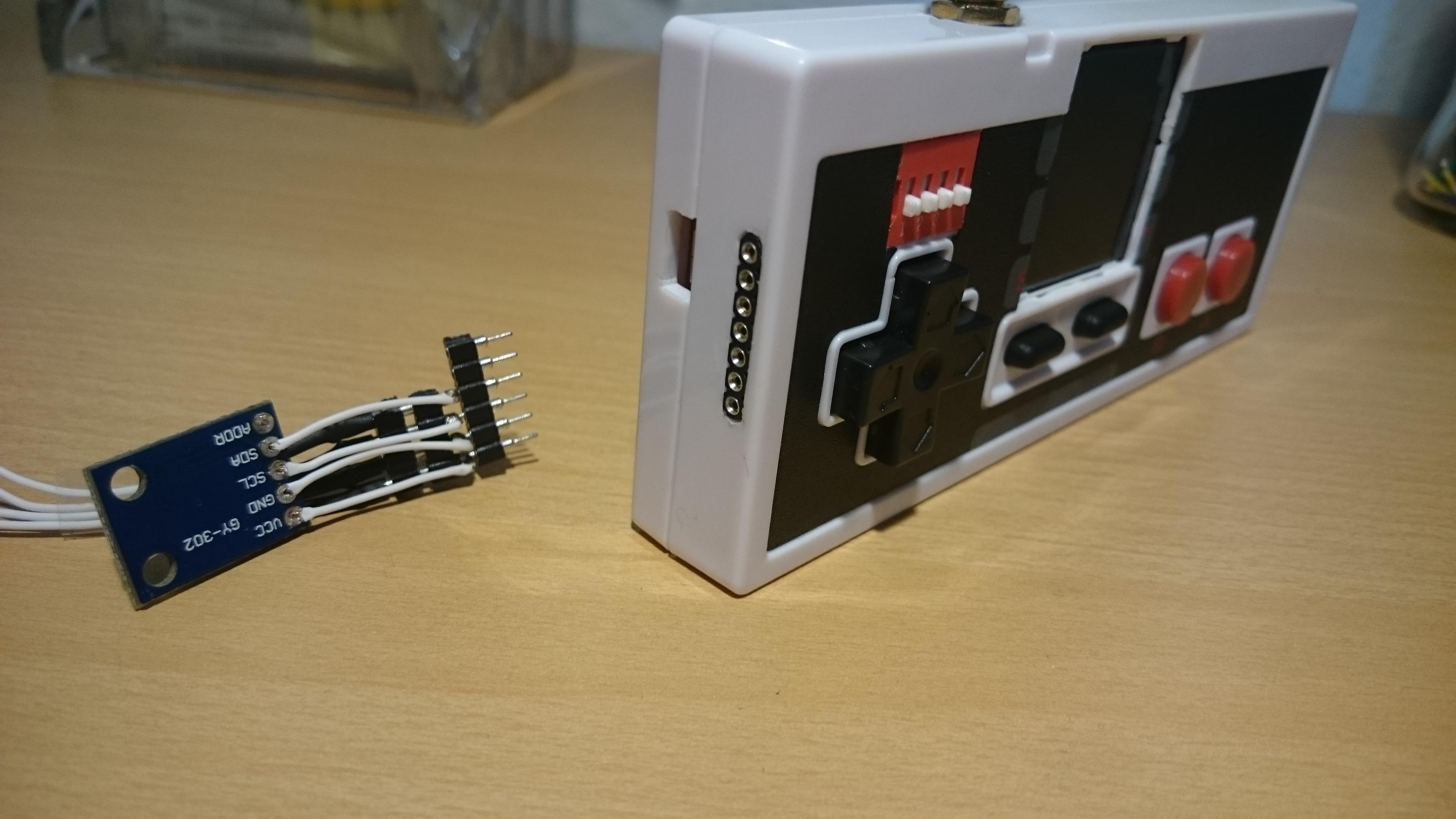 ESP8266/ESP32 reading temperature, airpressure, humidity and lux