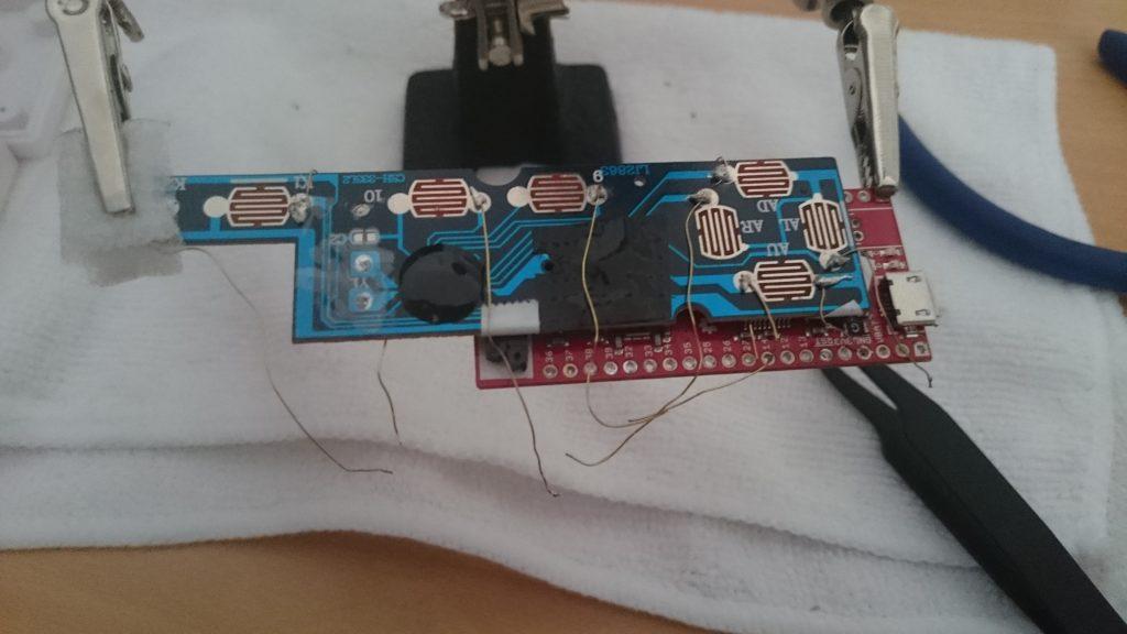 NES Controller Keypad PCB